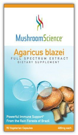 Buy Mushroom Science Agaricus Blazei, 90 Vcap, 400 Mg online