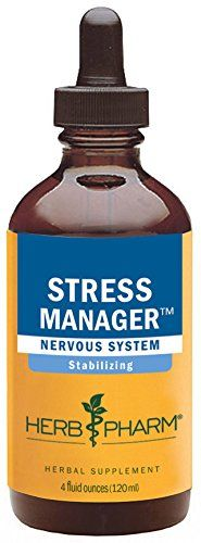 Buy Herb Pharm Stress Manager Herbal Formula With Rhodiola And Holy Basil Extracts - 4 Ounce online