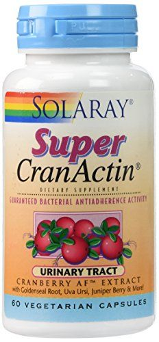 Buy Solaray - Super Cranactin, 60 Capsules online