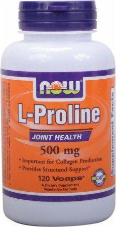 Buy L-proline 500mg 120 Vegicaps online