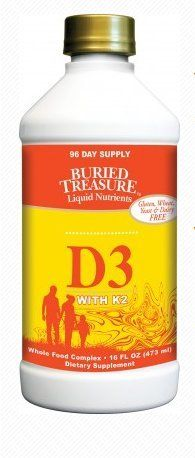 Buy Buried Treasure D With K2 Liquid, 16 Ounce online