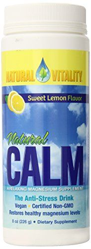 Buy Natural Vitality Calm Suppplement, Sweet Lemon, 8 Ounce online