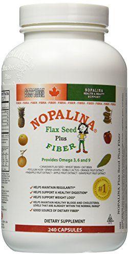Buy Nopalina Formula 240 Capsule (omega 3-6-9, Flax Seed) online