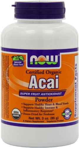 Buy Now Foods Certified Organic Acai Powder online