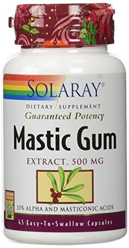 Buy Mastic Gum Solaray 45 Caps online