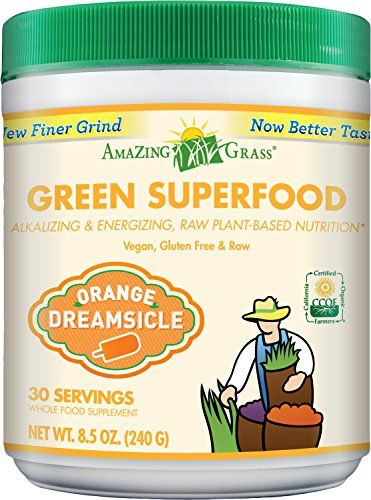 Buy Amazing Grass Green Superfood Orange Dreamsicle, 30 Servings, 8.5 Ounces online