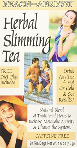 Buy Slimming Tea Peach Apricot 1.6oz (3 Pack) online