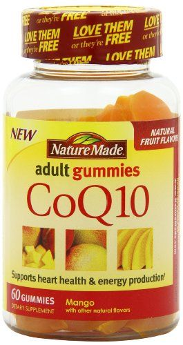 Buy Nature Made Coq10 Adult Gummies, 60 Count online