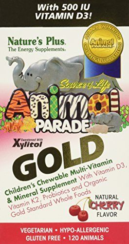 Buy Source of Life Animal Parade Gold Children's-Cherry Flavor - 120 - Chewable online