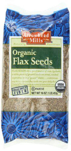 Buy Flax Seed (organic) Arrowhead Mills 1 Lbs Bulk online