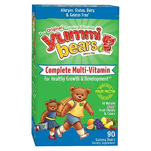 Buy Yummi Bears Vegetarian Multi-vitamin & Mineral For Kids, 90 Gummy Bears online