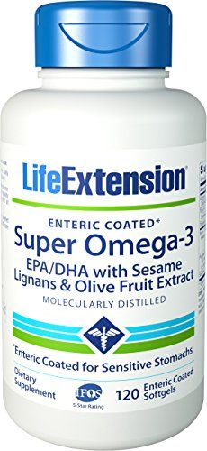 Buy Life Extension Super Omega-3 EPA/DHA with Sesame Lignans & Olive Extract online