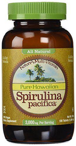 Buy Nutrex Hawaii - All Natural Hawaiian Spirulina Pacifica, 1000mg,180 Tablets online