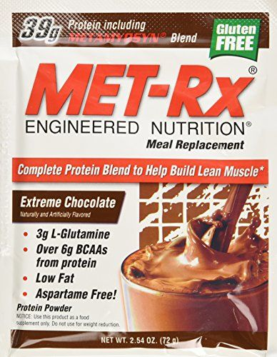 Buy MET-Rx Meal Replacement Powder - Extreme Chocolate online