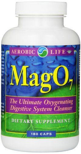 Buy Aerobic Life Mag 07 Oxygen Digestive System Cleanser Capsules, 180 Count online