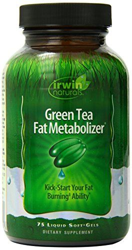 Buy Irwin Naturals Green Tea Fat Metabolizer Dietary Supplement Liquid Gel Caps online