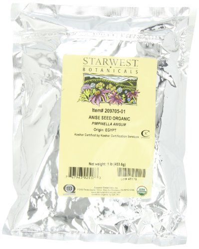 Buy Starwest Botanicals Organic Anise Seed, 1-pound Bag online
