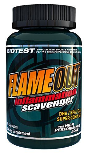 Buy Flameout Omega-3 Fish Oil Softgels (90 Count) - High Dose Pharmaceutical Grade online