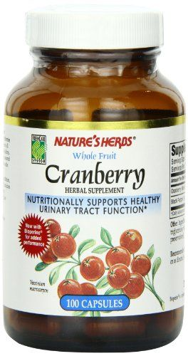 Buy Twin Lab Nat Cranberry Fruit, 100 Capsules online