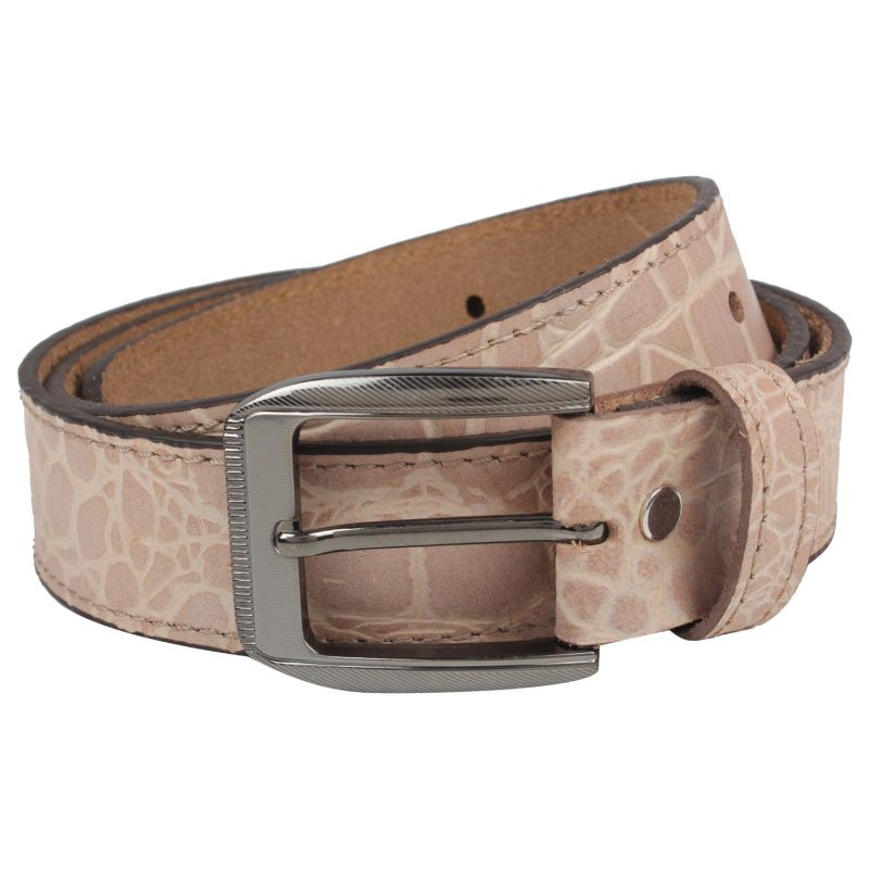 Buy Exotique Men's Beige Casual Belt online
