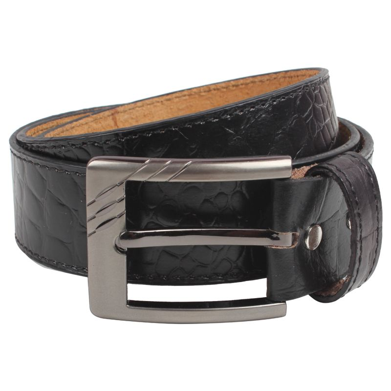 Buy Exotique Men's Black Casual Belt (bm0007bk) online