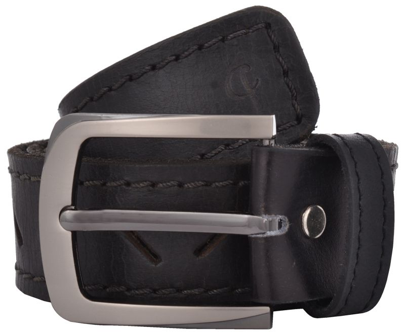 Buy Exotique Men's Black Casual Belt (bm0012bk) online