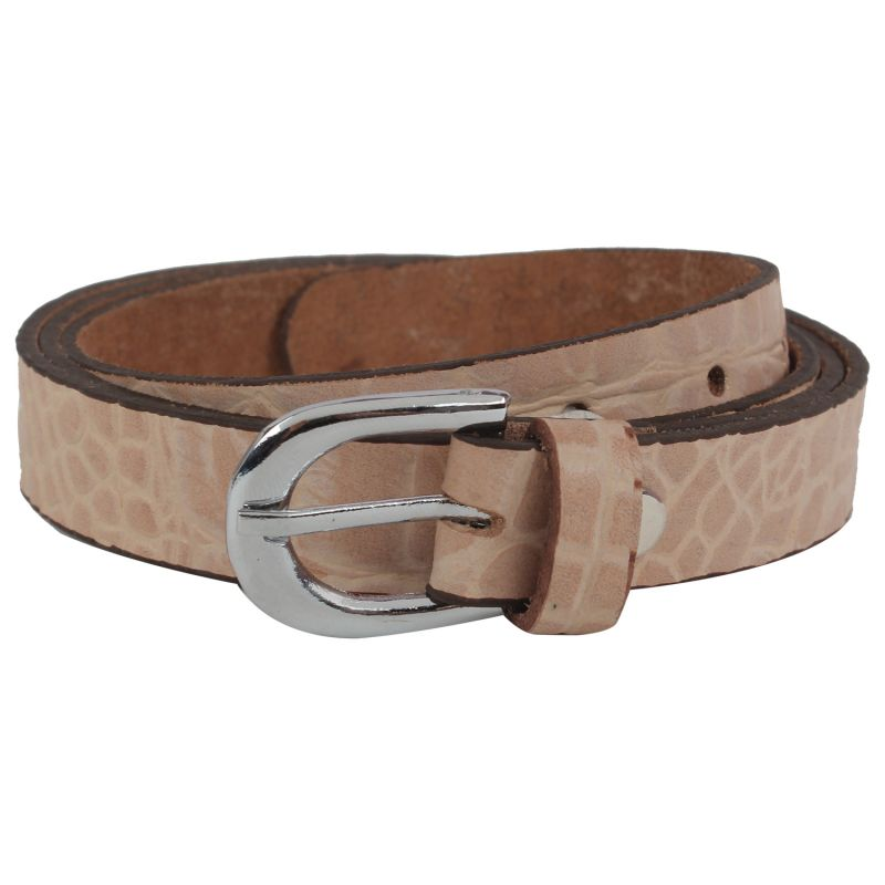 Buy Exotique Women's Beige Casual Belt online