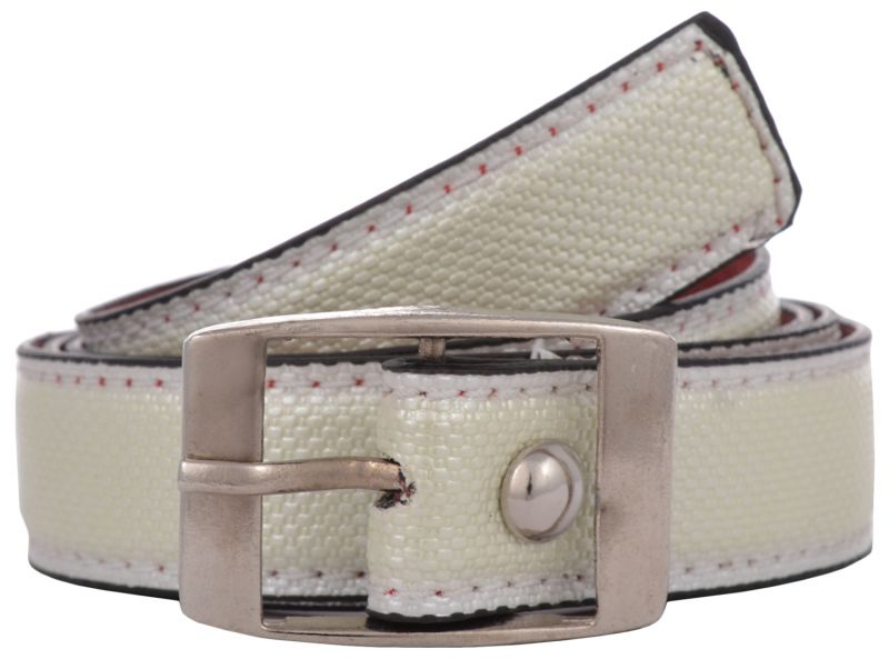 Buy Exotique Women's White Casual Belt online