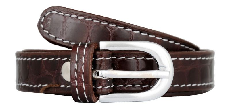 Buy Exotique Women'S Brown Casual Leather Belt online