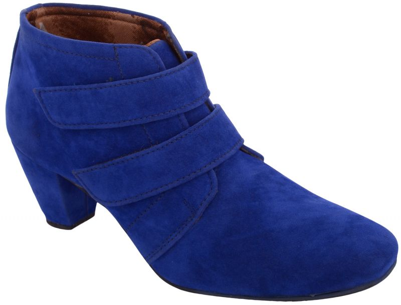 Buy Exotique Women's Blue Casual Boots(el0031bl) online
