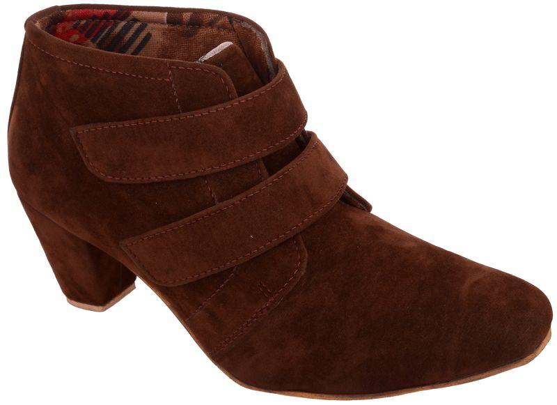 Buy Exotique Women's Brown Casual Boots(el0031br) online
