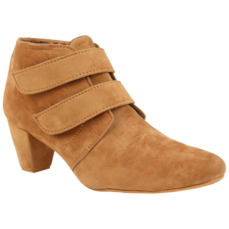 Buy Exotique Women's Tan Casual Boots online