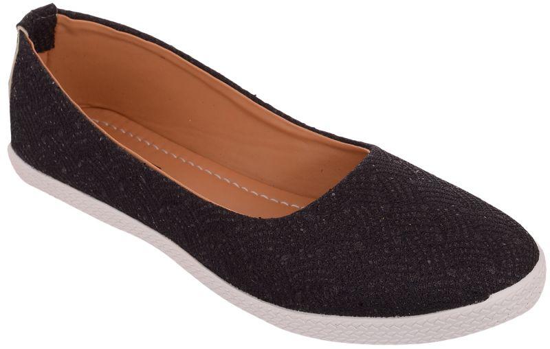 Buy Exotique Women's Black Ballerina Shoe(el0038bk) online