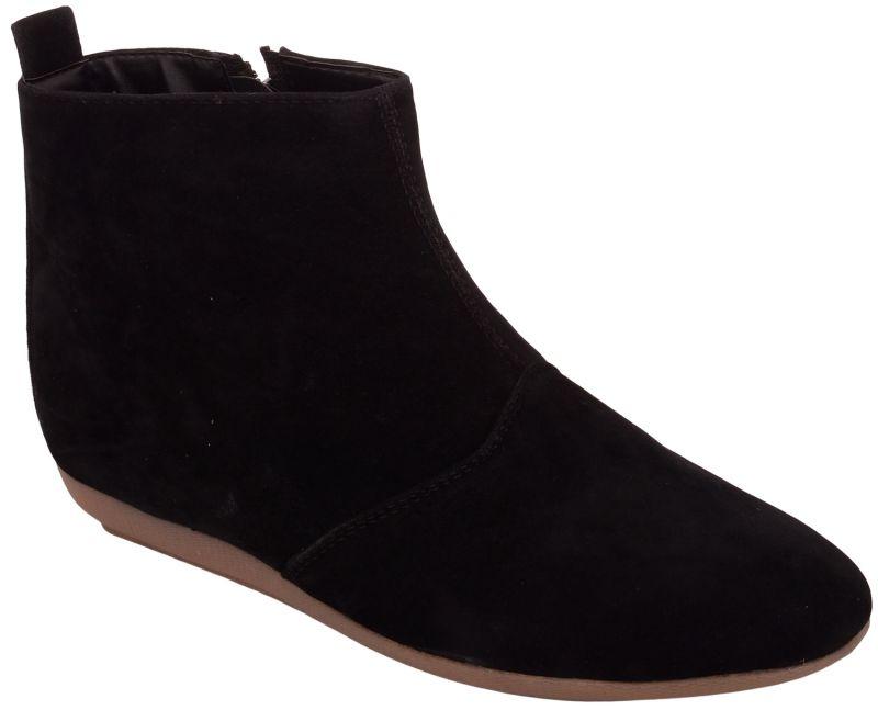 Buy Exotique Women's Black Casual Boot(el0041bk) online