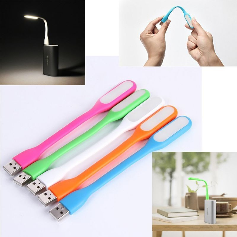 Buy Combo Of 5 Flexible Portable Bendable Lamp USB LED Light (torch Gadget) online