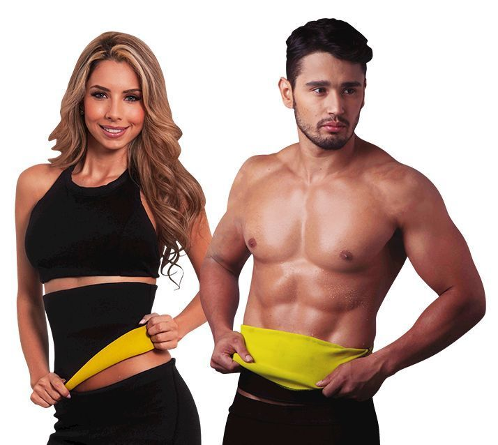 Buy Unisex Hot Shaper Melt N Slim Belt Tummy Trimmer Waist Shaper Neotex online