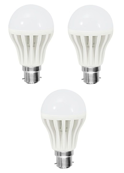 Buy 15 Watt White LED Bulb (set Of 3) online