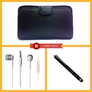 Buy Combo Of Vizio Soft Case,stylus Pen, Earphone. online