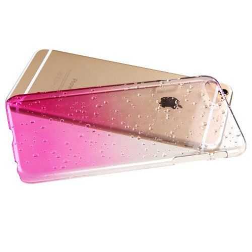 Buy Aeoss For iPhone 6 Ultra Thin Gradient Transparent Water Drop Raindrop Case online