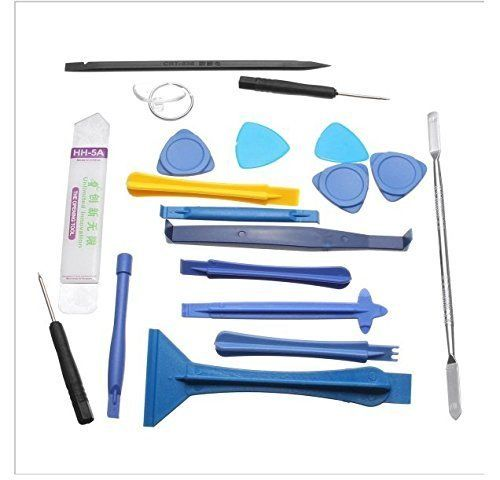 Buy Aeoss Professional Opening Pry Tool Repair Kit With Non-abrasive Nylon Spudgers And Anti-static 19 Piece Set Tool Set For iPhone Opening Repair Laptop online