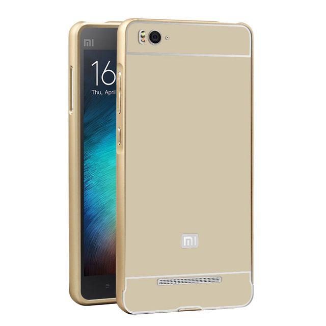 more photos 0187b 75fd0 Aeoss Xiaomi Mi 4i Mi4i Aluminium Metal Frame Bumper 2 In 1 Cover Case