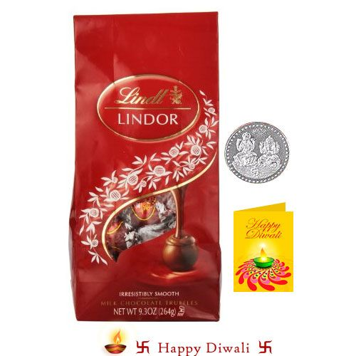 Buy Swiss Lindt Lindor Chocolates With Coin For Usa Delivery online
