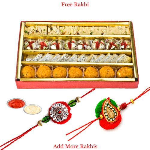Buy Haldiram's Tasty Assorted Sweets N Rakhi online