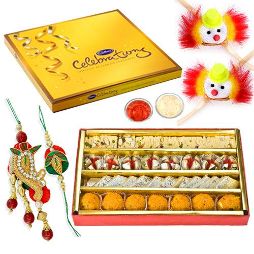 Buy Haldiram Assorted Sweets With Cadbury Celebration online