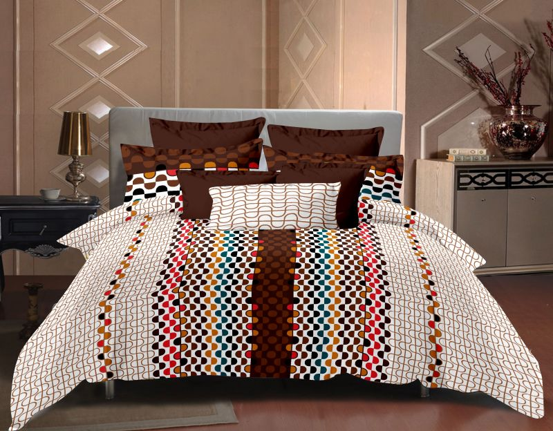 Royal Choice King Size Bed Sheet 100 % Cotton Bed Sheet With 2 Pillow Covers