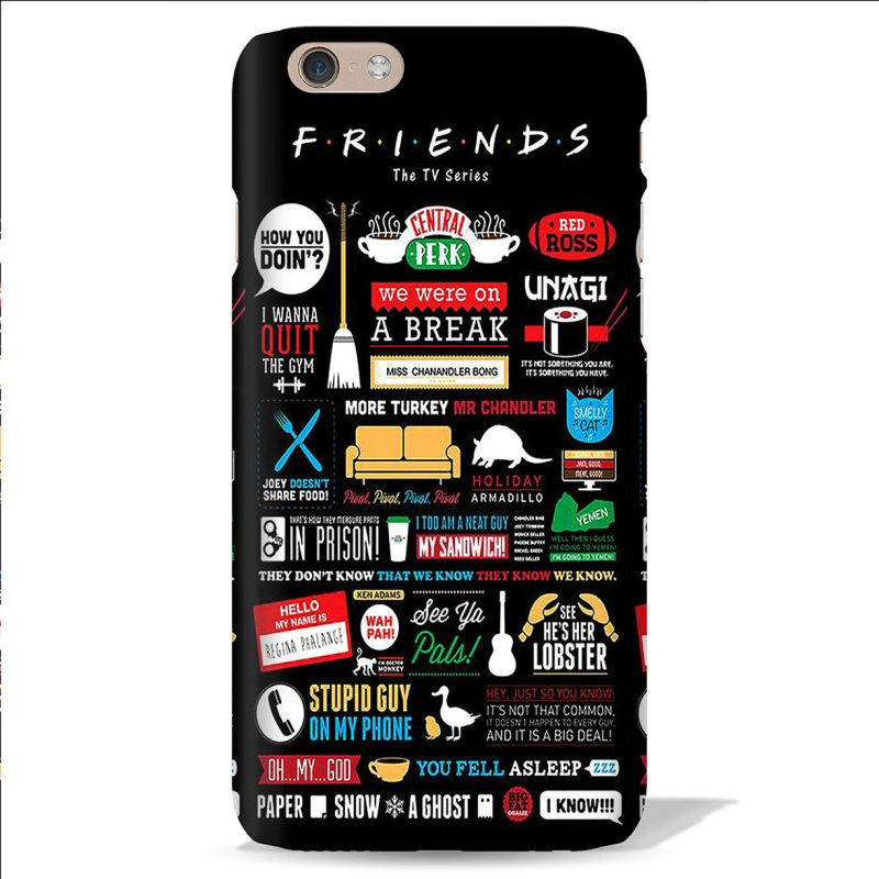 Buy Leo Power Friends The TV Series Printed Case Cover For Apple iPhone 6 online