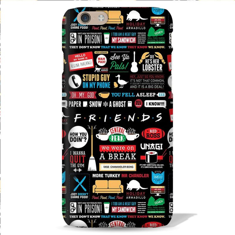 Buy Leo Power Friends TV Series Printed Case Cover For Oneplus 3 online