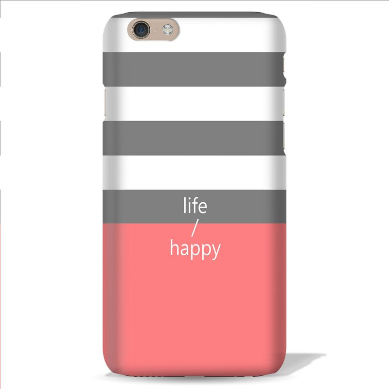 Buy Leo Power Life Happy Printed Case Cover For Apple iPhone 7 online