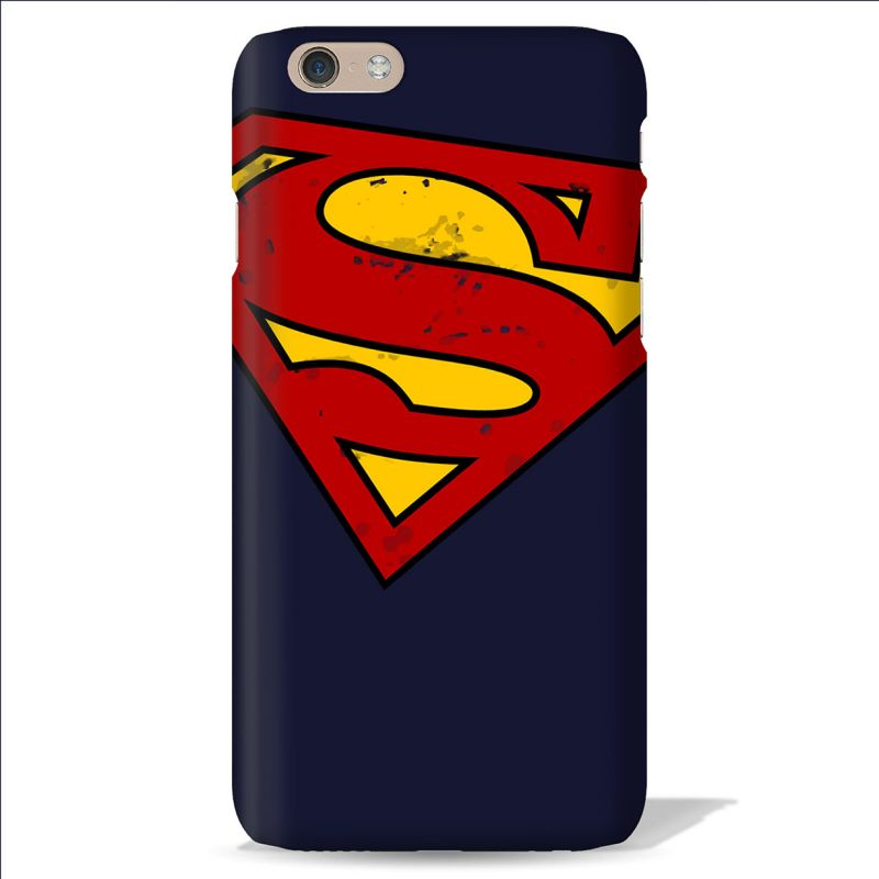 Buy Leo Power Superman Logo Printed Case Cover For Oneplus 3 online
