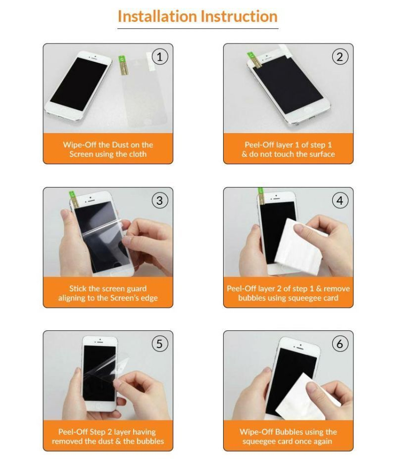 Buy Sony Xperia Z Premium Quality Clear Screen Guard Screen Protector (front & Back) online